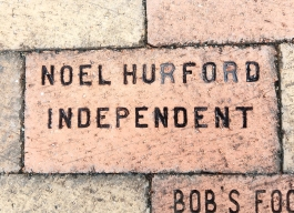 3-2-17 Brick Noel E. Hurford brick