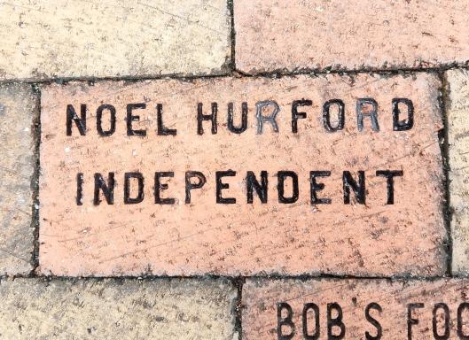 3-2-17 Brick Noel E. Hurford brick