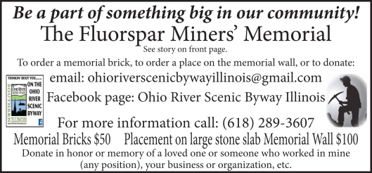 3-2-17 Miners' Memorial ad
