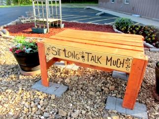 5-5-16 GOLDEN CIRCLE pic bench