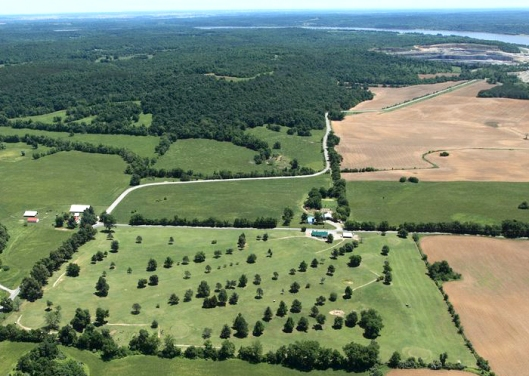 5-11-17 Hardin County Golf Course aerial view
