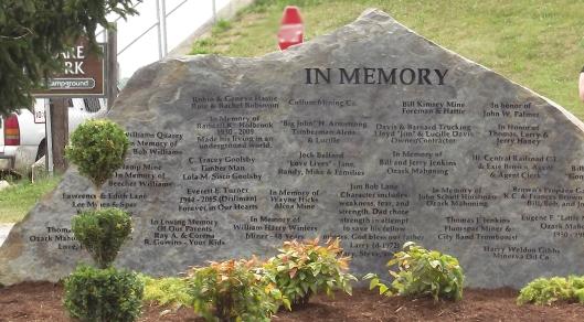 6-22-17 Memorial Wall