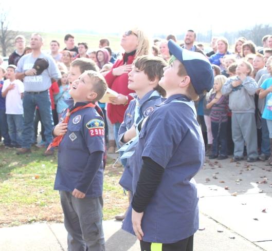 12-7-17 IL 200 Cub Scouts lead